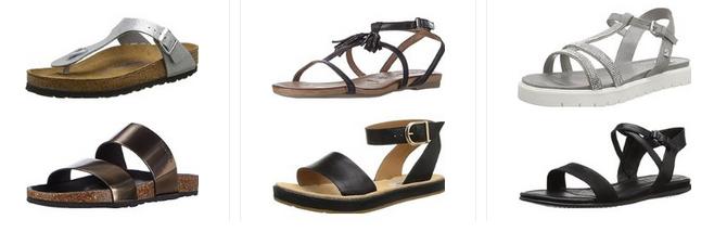 Sommer-Sandalen für Frauen reduziert bei Amazon