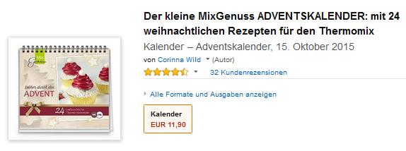 MixGenuss ADVENTSKALENDER für Thermomix
