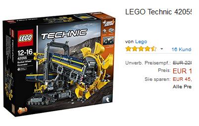 Geschenkidee von LEGO Technic - Schaufelradbagger 42055