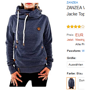 warmer, moderner Damenpullover für Winter von ZANZEA