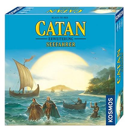 Siedler von Catan Erweiterung Seefahrer