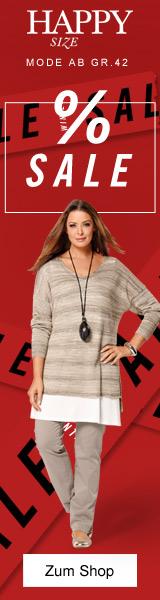 Sale bei Happy Size: Mode für mollige Frauen reduziert