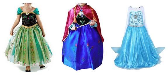 Anna von Die Eiskönigin Kostüme, prächtig & günstig, auch Elsa