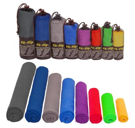 Fit-Flip kleine Mikrofaser-Handtücher zum Transport