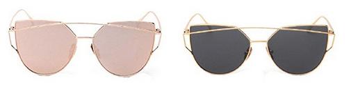 Katzenauge-, Cateye-Design-Sollenbrillen spottbillig von Yitsu
