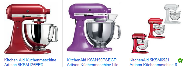 KitchenAid Küchenmaschine billig bestellen
