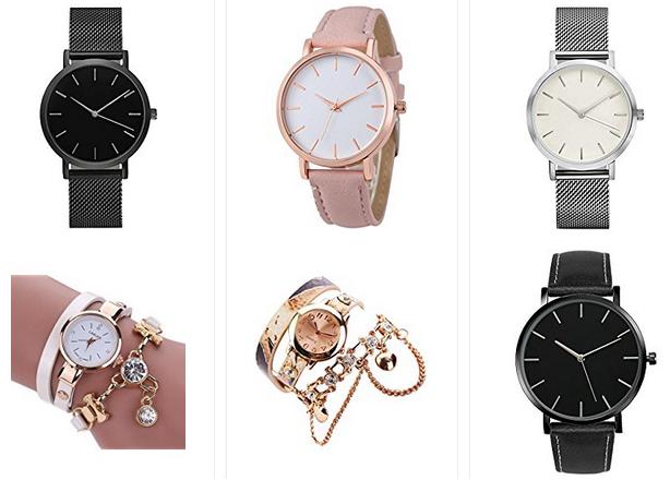Armbanduhren von Sunnywill unter 5 Euro