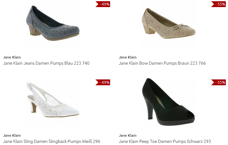 Jane Klain bei Outlet46