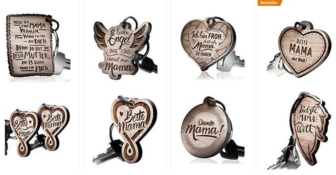 Schlüsselanhänger Mama von SchenkYou