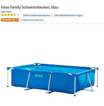 Family Schwimmbecken von Intex