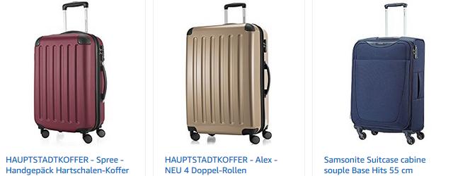 Koffer Restposten bei Amazon