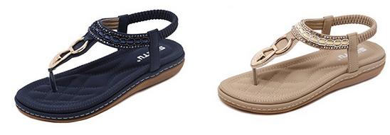 ZOEREA Sandalen und Zehentrenner