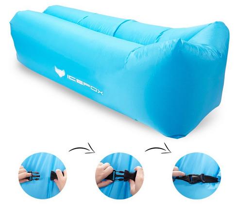 air lounger von icefox aufblasbare matratze f r 29 99. Black Bedroom Furniture Sets. Home Design Ideas