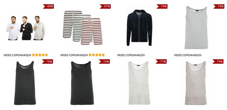 Moss Copenhagen - stark reduzierte Herrenkleidung