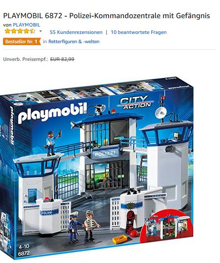 Polizeizentrale 6872 von playmobil