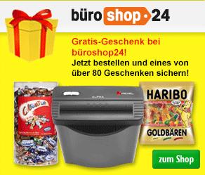 büroshop24 Gratisartikel & kostenlose Geschenke