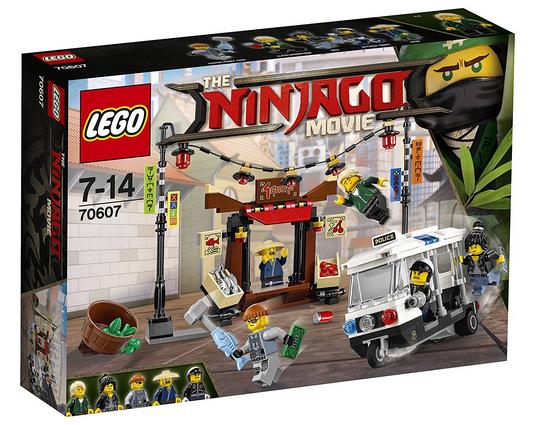 LEGO Ninjago Movie 70607