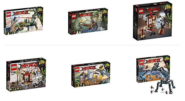 LEGO Sets vom Ninjago Movie