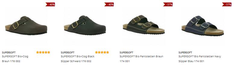 Pantoffeln & Pantoletten von Supersoft