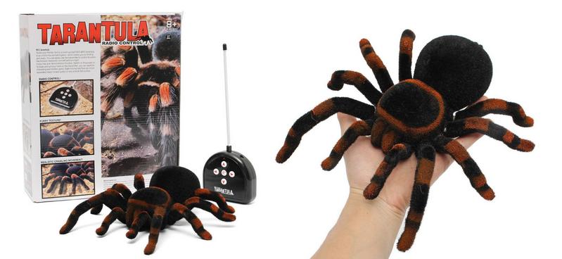 RC Tarantula - Riesenspinne mit Fernbedienung