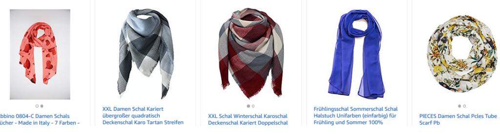 Schals für Frauen bei amazon.de