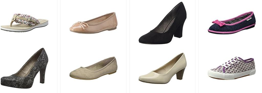 Tamaris Schuhe billig bei Amazon