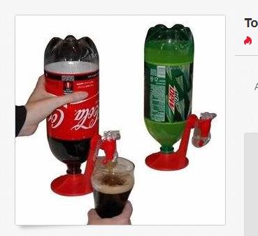 Wasserspender-Gadget für Pfandflaschen