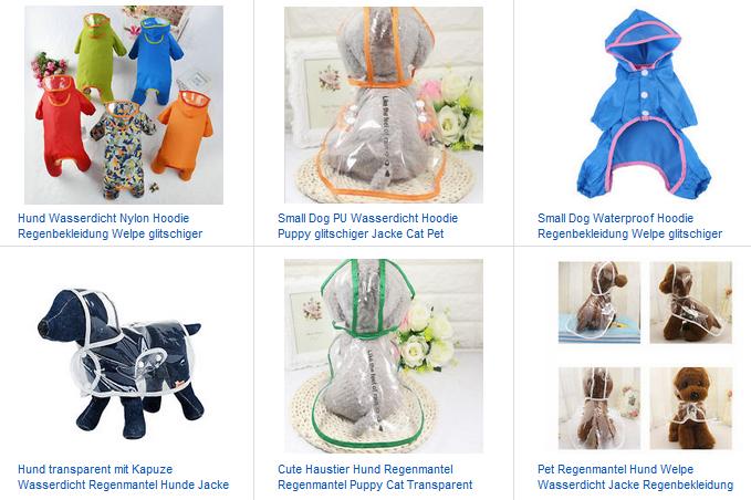 Ab Für — Bei Ebay 2€ HundeDeals Regenmantel 5Lq4jR3A