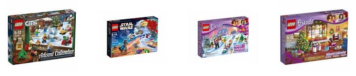 LEGO Adventskalender bei bücher.de