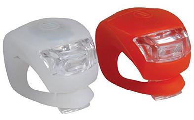 Profex LED-Silikonleuchtenset fürs Fahrrad