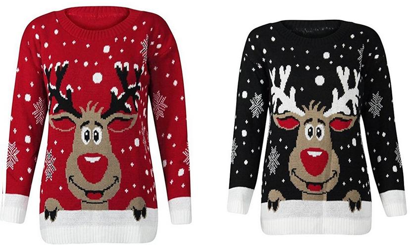 Rudolph Rotnase Pullover für Weihnachten & Advent