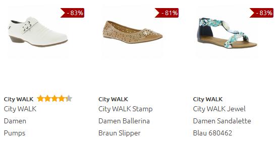 City Walk Schuhe bei Outlet46