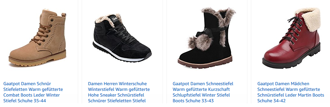 Gaatpot Schuhe - tolle, günstige Auswahl für den Winter