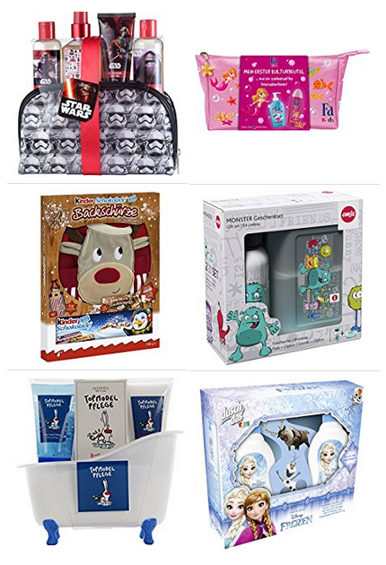 Geschenksets für Kinder & Familien bei amazon.de