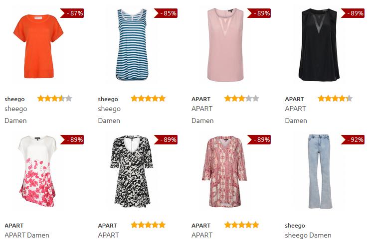 Mode für Mollige: Übergrößen billig bei Outlet46