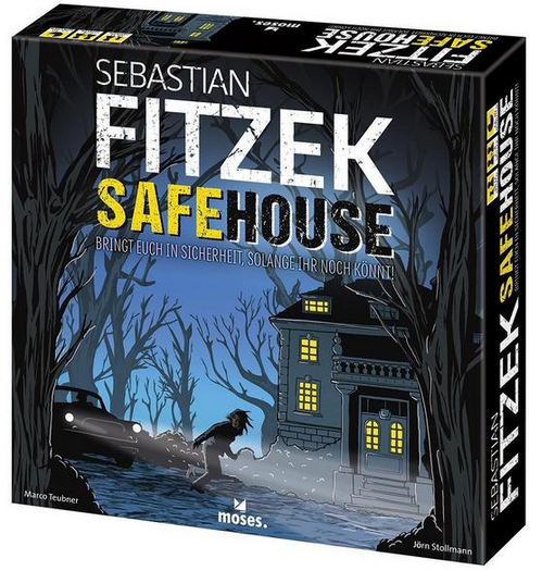 Safehouse - Gesellschaftsspiel von Sebastian Fitzek
