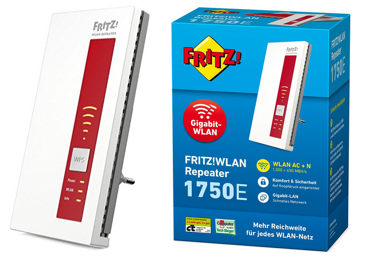 AVM FRITZ!WLAN Repeater 1750E