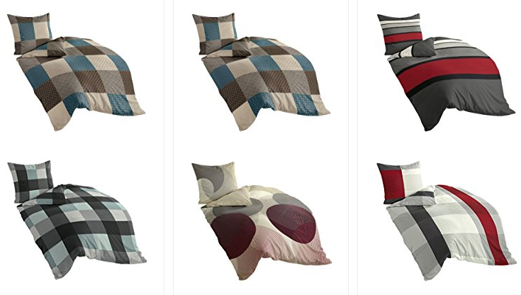 bierbaum bettw sche reduziert bei bei amazon. Black Bedroom Furniture Sets. Home Design Ideas