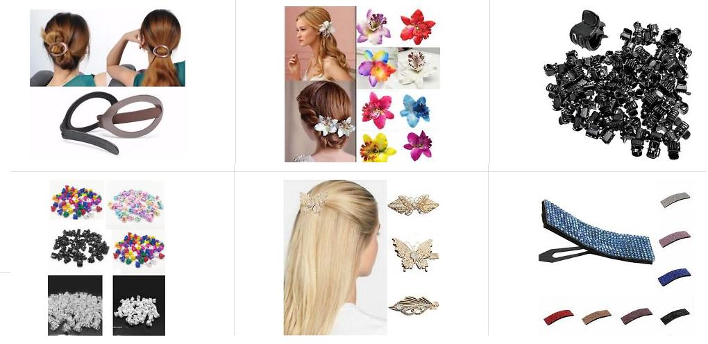 Haarclip Haarspange billig Gadget ebay