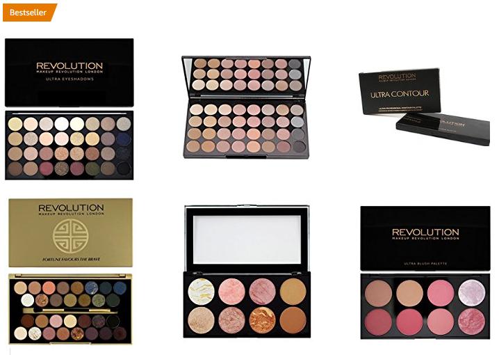 Makeup Revolution Paletten