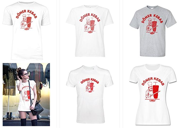 Döner Kebab Shirts