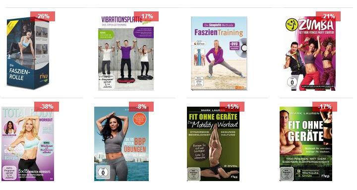 Fitness DVDs billig bei bücher Workout für zu Hause