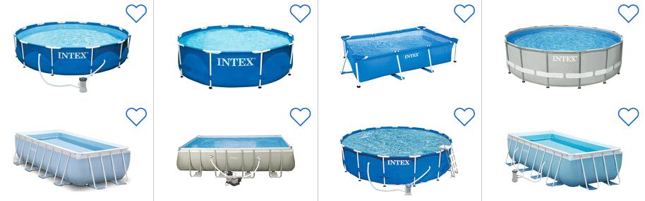 Intex pools billig bestellen durch preisvergleich for Pool billig