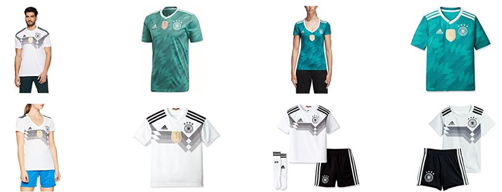 DFB-Trikots für aktuelles Fußballturnier