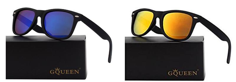 GQUEEN Wayfarer Sonnenbrille