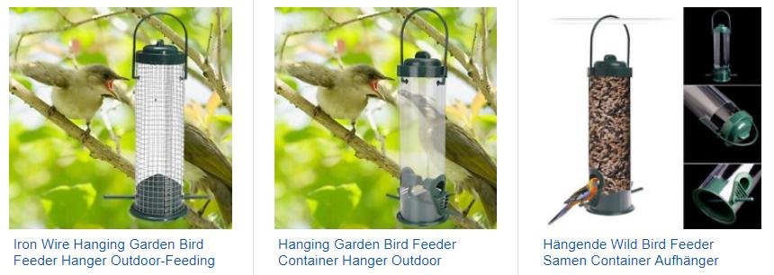 Bird Feeder - Vogelfutterstation für den Garten als Gadget