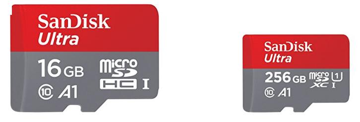 SanDisk Ultra Speicherkarten billig bestellen