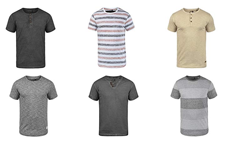 solid t shirts f r m nner stylische auswahl. Black Bedroom Furniture Sets. Home Design Ideas
