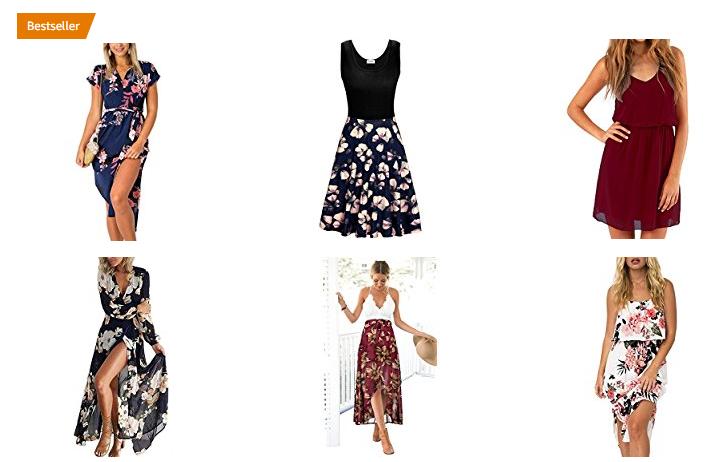 Sommerkleider für Damen bei Amazon