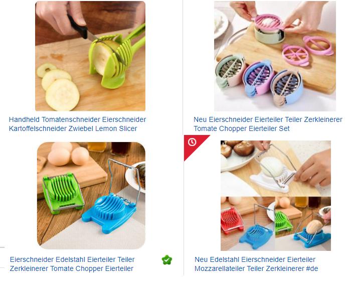 Eierschneider billig bei ebay